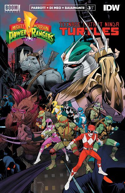 Mighty Morphin Power Rangers – Teenage Mutant Ninja Turtles #3 (2020)