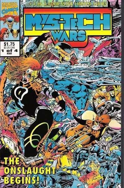 Mys-Tech Wars #1 – 4 (1993)