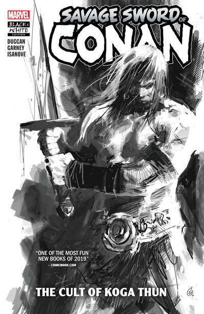 Savage Sword of Conan Vol. 1 – The Cult of Koga Thun (Black and White Edition) (TPB) (2019)
