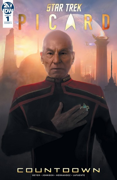 Star Trek – Picard – Countdown #1 – 3 (2019-2020)