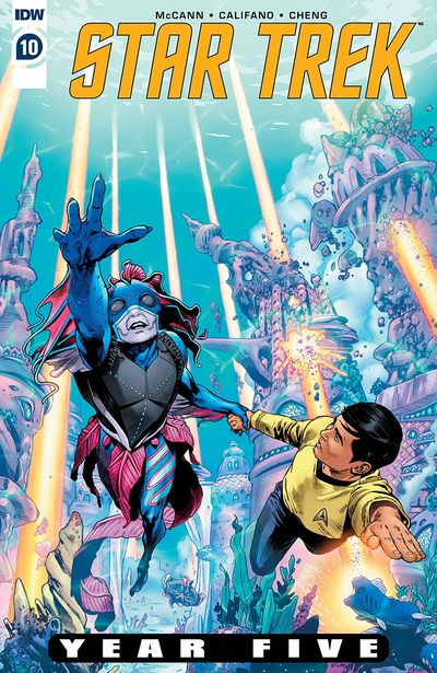 Star Trek – Year Five #10 (2020)