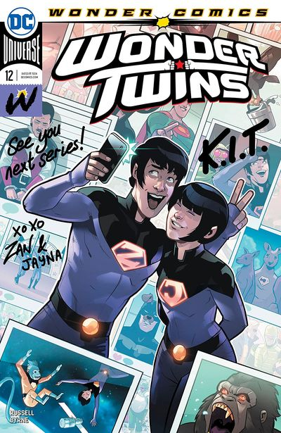 Wonder Twins #12 (2020)
