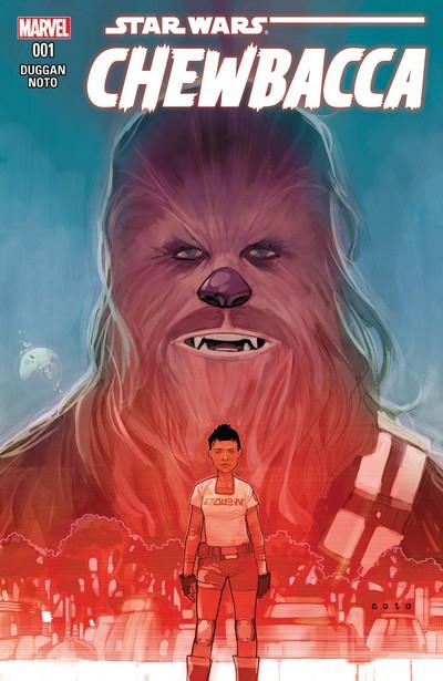 Chewbacca #1 – 5 (2015-2016)