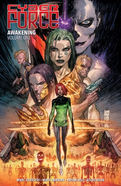 Cyber Force – Awakening Vol. 1 – 3 (TPB) (2018-2019)