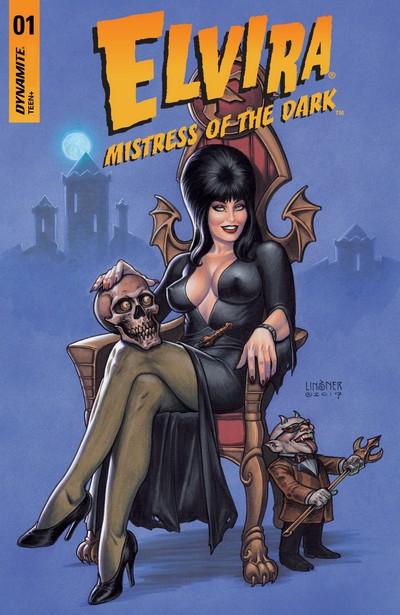 Elvira – Mistress of the Dark #1 – 12 (2018-2020)