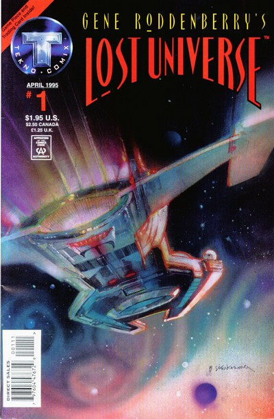 Gene Roddenberry's Lost Universe #1 – 7 (1995)