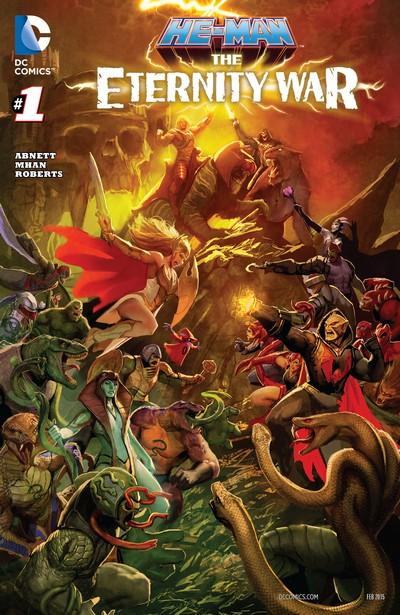 He-Man – The Eternity War #1 – 15 (2014-2016)