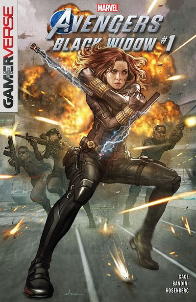Marvel's Avengers – Black Widow #1 (2020)