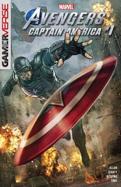 Marvel's Avengers – Captain America #1 (2020)