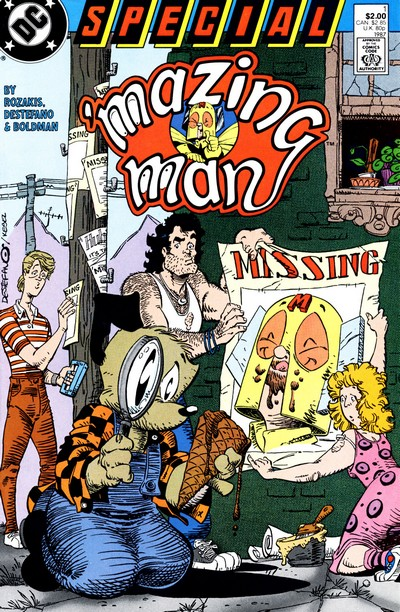 'Mazing Man Special #1 – 3 (1987-1990)