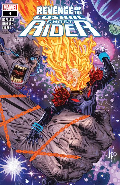 Revenge Of The Cosmic Ghost Rider #4 (2020)