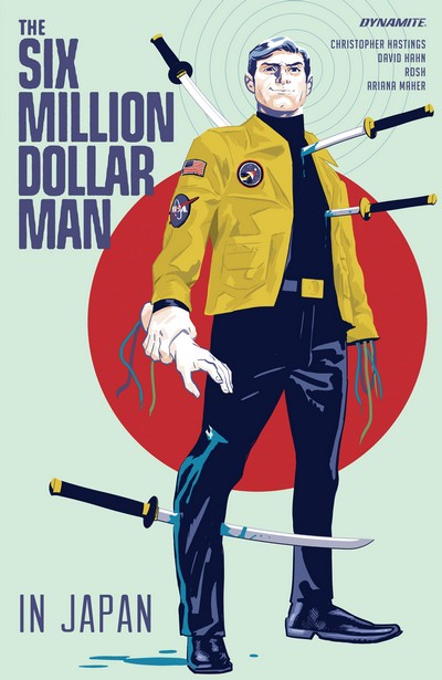 The Six Million Dollar Man – In Japan (TPB) (2020)