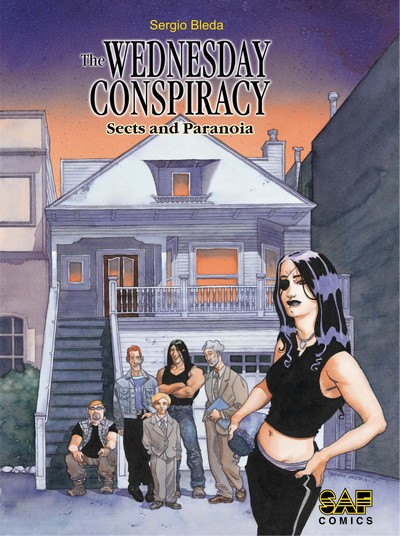 The Wednesday Conspiracy #1 – 3 (2019)
