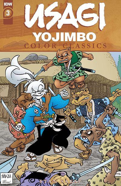 Usagi Yojimbo Color Classics #3 (2020)