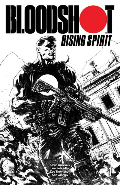 Bloodshot Rising Spirit (Fan Made TPB) (2019)