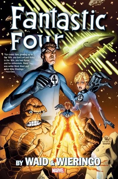Fantastic Four by Mark Waid Omnibus (Fan Made) (2018)