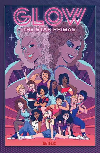 GLOW vs the Star Primas (TPB) (2019)