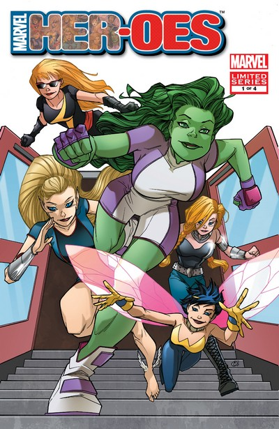 Her-oes #1 – 4 (2010)