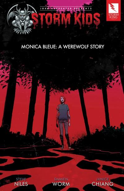 John Carpenter presents Storm Kids – Monica Bleue (Fan Made TPB) (2019)