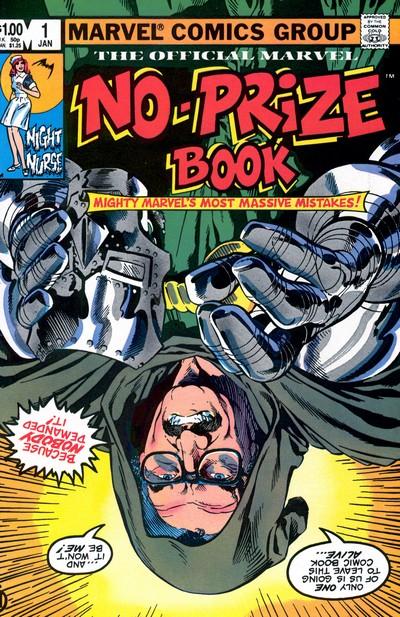 Marvel No-Prize Book #1 (1983)