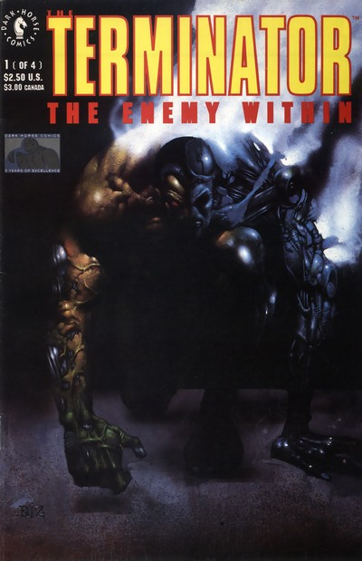 The Terminator – The Enemy Within #1 – 4 (1991-1992)