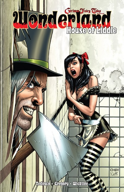 Wonderland – House of Liddle (TPB) (2011)