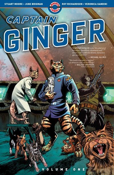 Captain Ginger Vol. 1 – Survival Instinct (TPB) (2019)