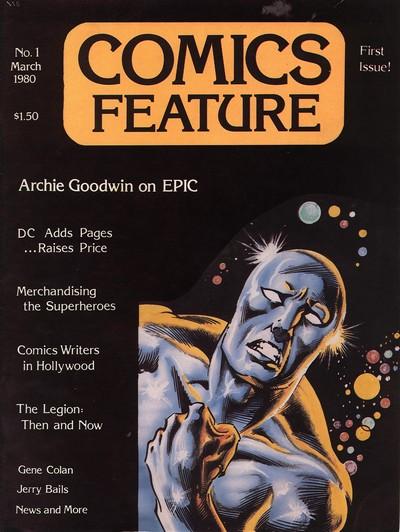 Comics Feature #1 – 57 + Extras (1980-1987)