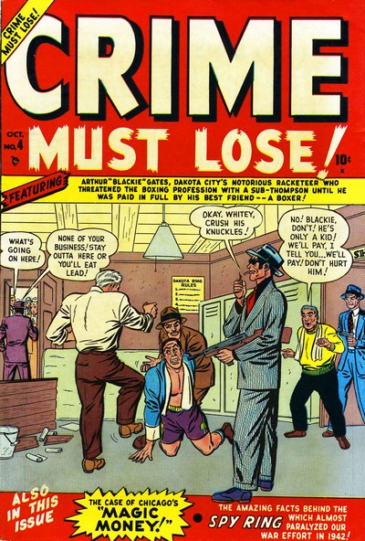 Crime Must Lose #4 – 12 (1950-1952)