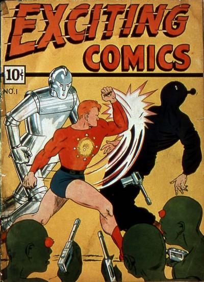 Exciting Comics #1 – 69 (1940-1949)
