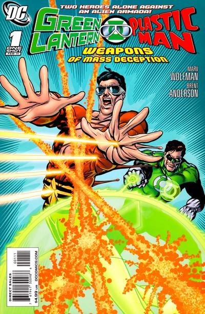 Green Lantern-Plastic Man – Weapons of Mass Deception #1 (2011)