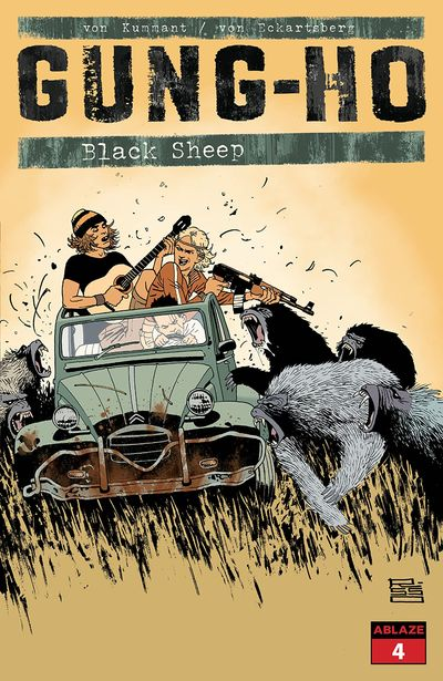 Gung-Ho – Black Sheep #4 (2020)