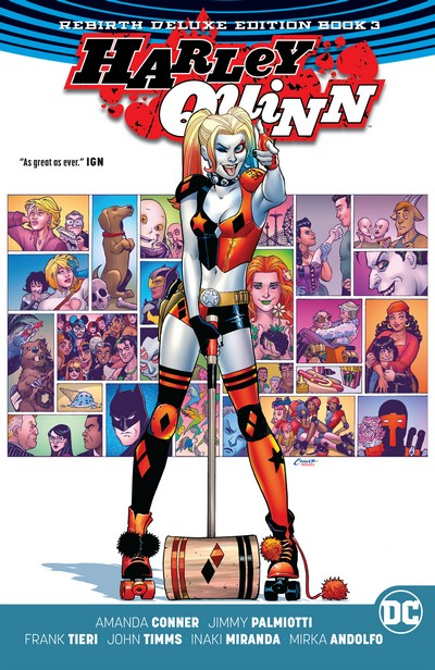 Harley Quinn – Rebirth Deluxe Edition Book 3 (2018)