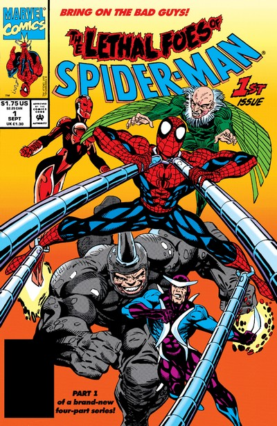 Lethal Foes of Spider-Man #1 – 4 (1993)