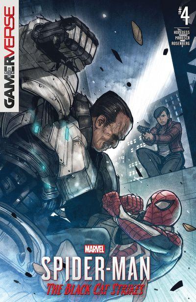 Marvel's Spider-Man – The Black Cat Strikes #4 (2020)