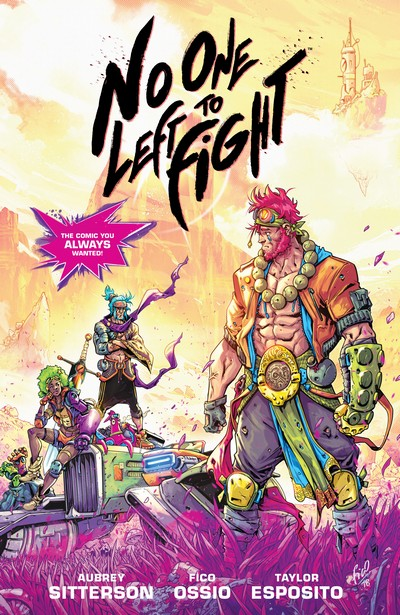 No One Left to Fight (TPB) (2020)