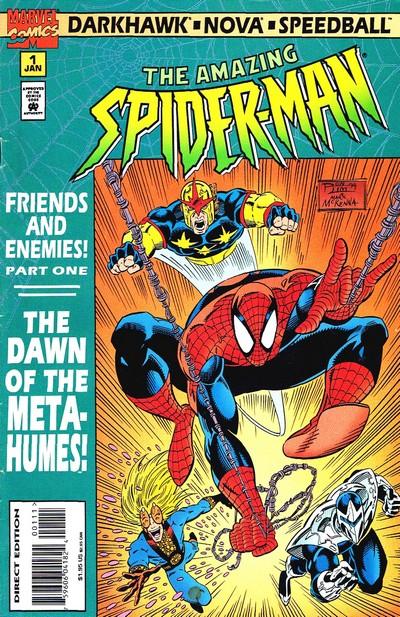 Spider-Man – Friends & Enemies #1 – 4 (1995)
