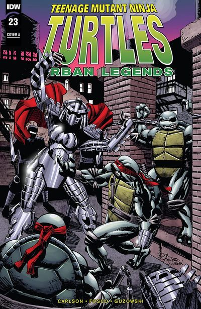 Teenage Mutant Ninja Turtles – Urban Legends #23 (2020)