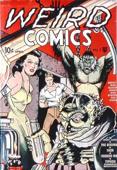 Weird Comics #1 – 20 (1940-1942)