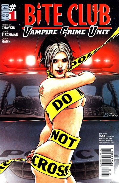 Bite Club – Vampire Crime Unit #1 – 5 (2006)