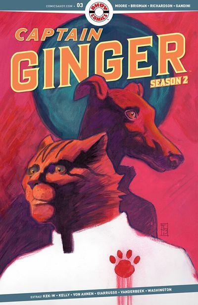 Captain Ginger Season 2 #3 (2020)