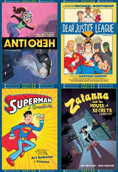 DC Graphic Novels for Kids Sneak Peeks (Collection) (2020)