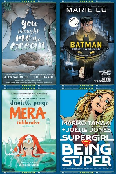 DC Graphic Novels for Young Adults Sneak Previews (Collection) (2020)