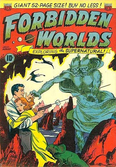 Forbidden Worlds #1 – 145 (1951-1967)