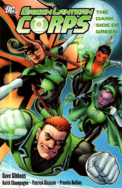 Green Lantern Corps Vol. 2 – The Dark Side of Green (2007) (Fan Made TPB)