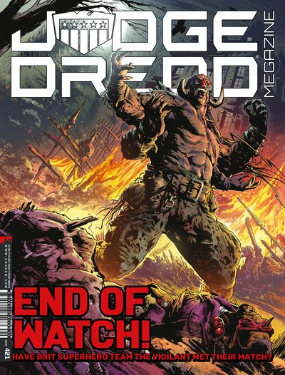 Judge Dredd Megazine #421 (2020)