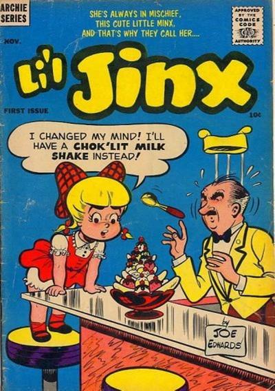 Li'l Jinx #1 + 12-16 (1956-1957)