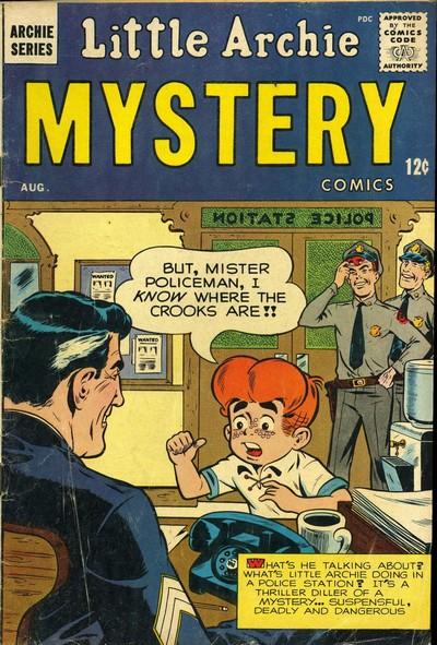 Little Archie Mystery Comics #1 – 2 (1963)