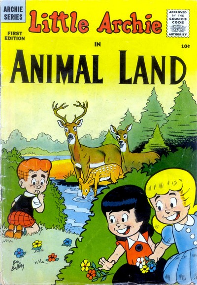 Little Archie in Animal Land #1 + 17-19 (1957-1958)