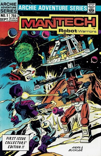 Mantech Robot Warriors #1 – 4 (1985)